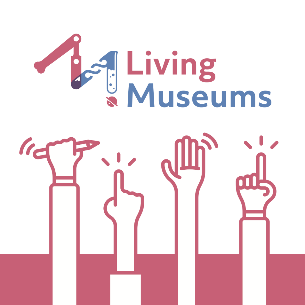 The Living Museums logo