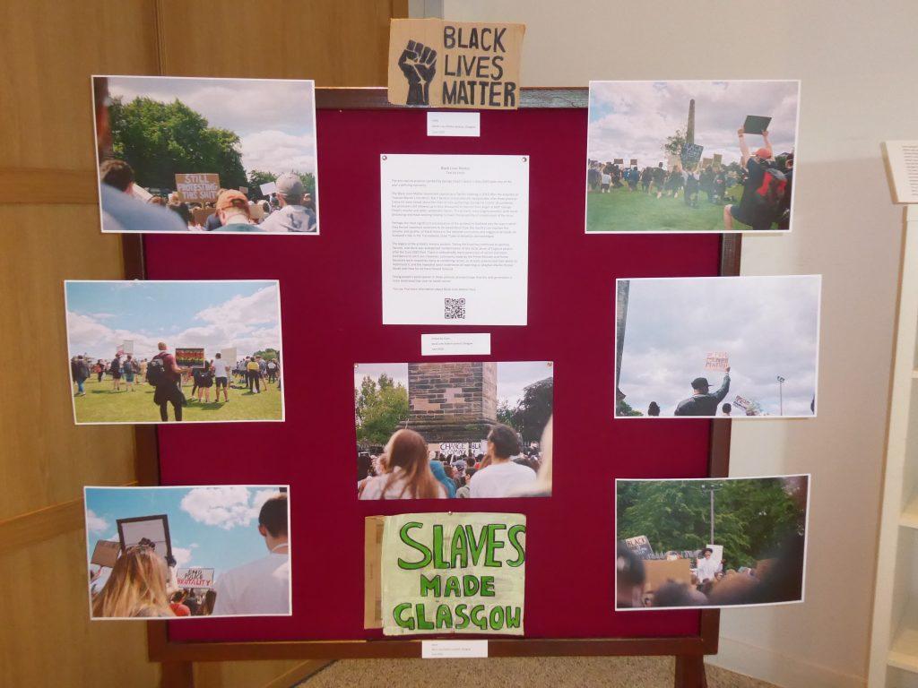 Protest art - Black Lives Matter