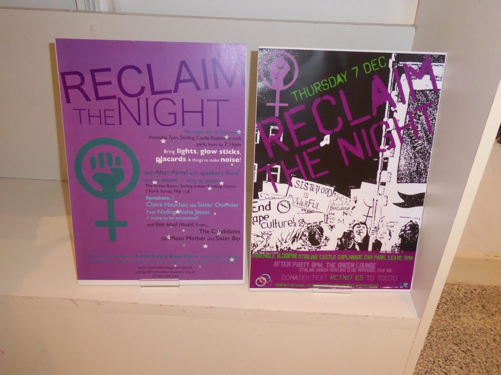 Protest art - Reclaim the night