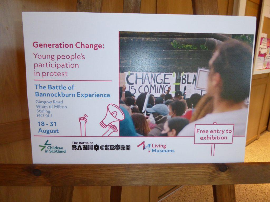 The Generation Change exhibition